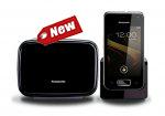 گوشی تلفن بی سیم اندروید مدل KX-PRX110