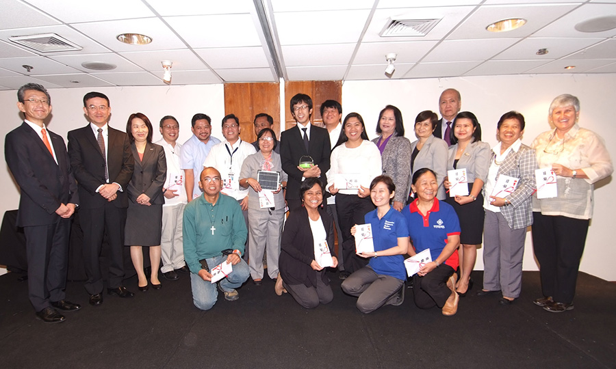 اهدا بیش از 2300 فانوس خورشیدی به فیلیپین توسط پاناسونیک